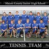 MCJHS Boys Tennis Team 8x10