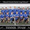 MCJHS Boys Tennis Team 8x10