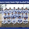 MCJHS 2014 Baseball Team 5x7
