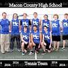 MCHS Tennis Team 2014  8x10