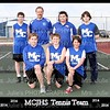 MCJHS Tennis Team Boys 8x10
