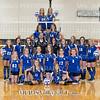 MCJHS Volleyball Team  5x7