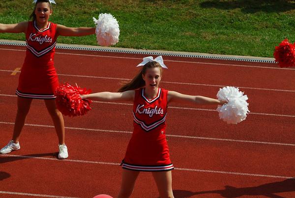 MHHS Cheerleaders-Homecoming