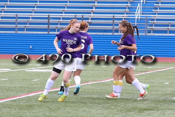 MHS Girls Varsity Soccer vs. Arlington 2015