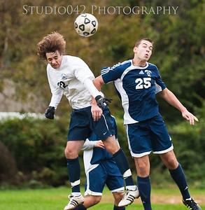 MHS JV Boys Soccer 10-9-2012
