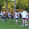 Home meet before race