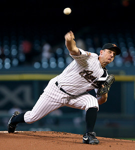 June 22, 2010 - Houston Astros pitcher Roy Oswalt delivers a pitch in the first inning. The Astros lost to the San Francisco Giants 3-1.