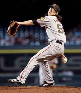 June 22, 2010 - Tim Lincecum continued his mastery of the Houston Astros pitching eight innings and allowing just one unearned run as the San Francisco Giants defeated the Astros 3-1.