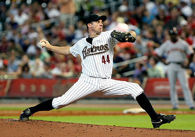 June 22, 2010 - Roy Oswalt pitched seven strong innings Tuesday night,  giving up just two earned runs and six hits to the San Francisco Giants. However, Giants pitcher Tim Lincecum bested Oswalt and the Astros for the third time this season, getting a 3-1 victory.