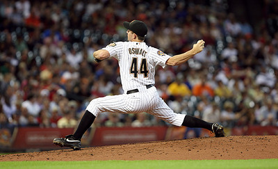 June 22, 2010 - Houston Astros pitcher Roy Oswalt delivers a pitch. The Astros lost to the San Francisco Giants 3-1.