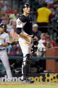June 22, 2010 - Jason Castro made his first major league start Tuesday against the San Francisco Giants. The Astros lost to the Giants 3-1.