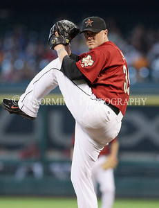 June 12, 2011; Houston, TX, USA; Houston Astros pitcher Brett Myers (39) pitches in the second inning against the Atlanta Braves at Minute Maid Park. Mandatory Credit: Troy Taormina-US PRESSWIRE