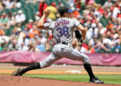 May 15, 2011; Houston, TX, USA; New York Mets starting pitcher Chris Capuano (38) delivers a fourth inning pitch against the Houston Astros at Minute Maid Park. Mandatory Credit: Troy Taormina-US PRESSWIRE