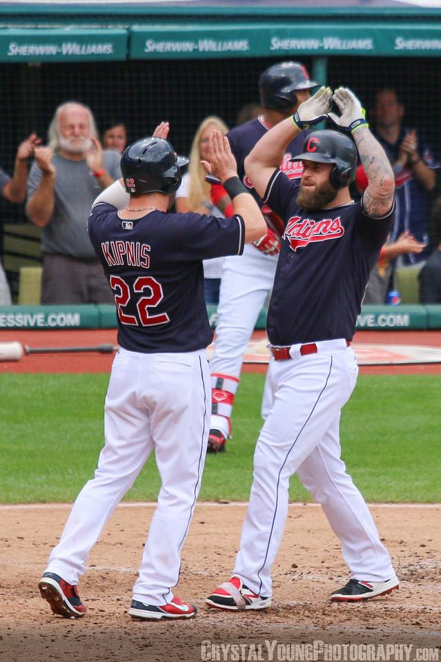 Mike Napoli Home Run