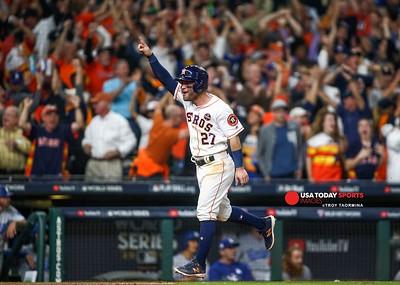 MLB: World Series-Los Angeles Dodgers at Houston Astros
