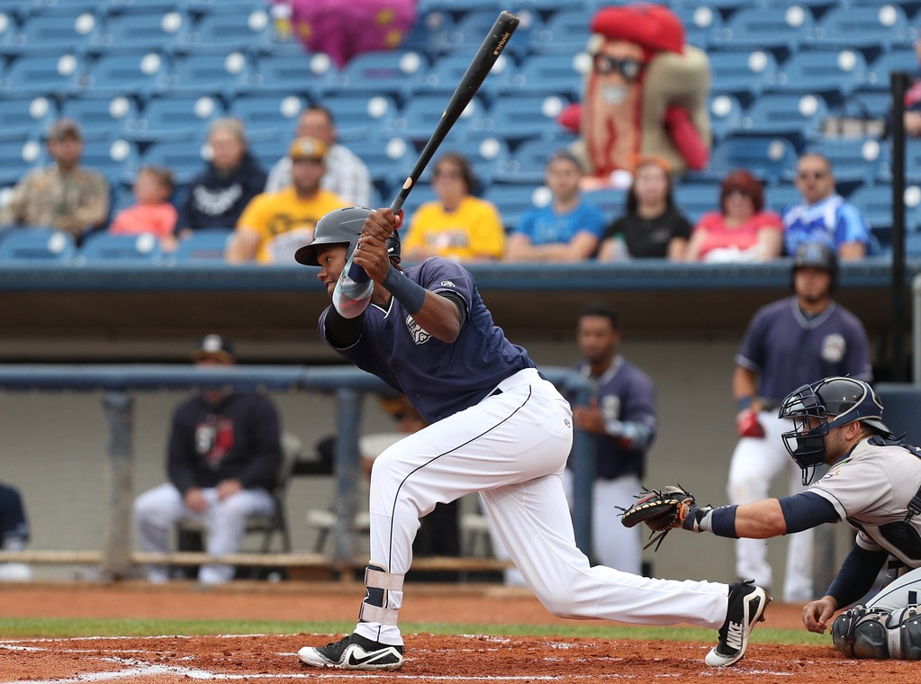 . Tim Phillis - The News-Herald Photos from the Lake County Captains vs. the Bees on July 22, 2018, at Classic Park.
