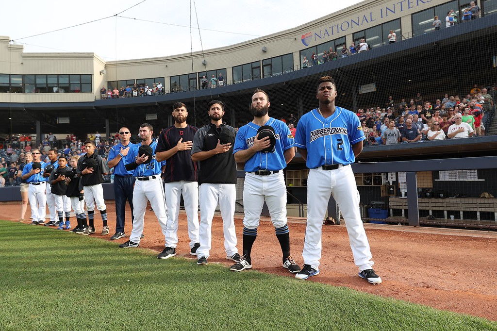 . Tim Phillis - The News-Herald Photos from the Akron RubberDucks game on July 24, 2018.
