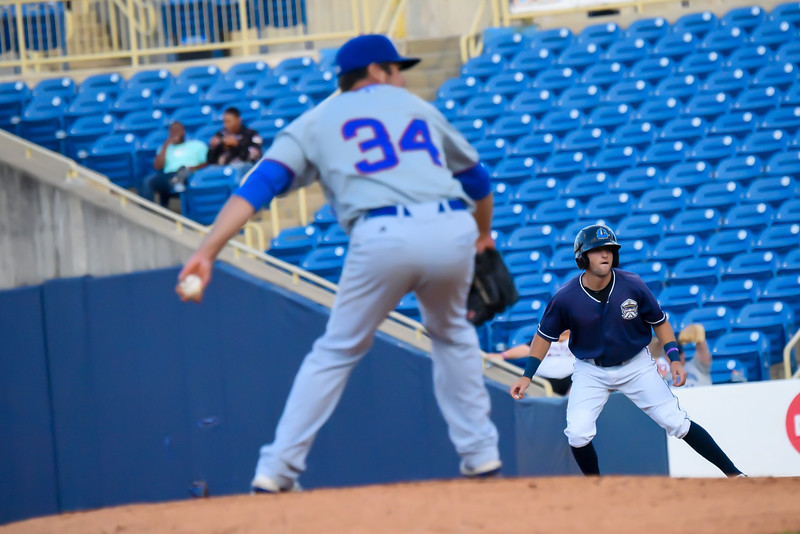 Michael P. Payne - The News-Herald<br /> Photos from the Lake County Captains vs. South Bend Cubs on Aug. 22, 2018.
