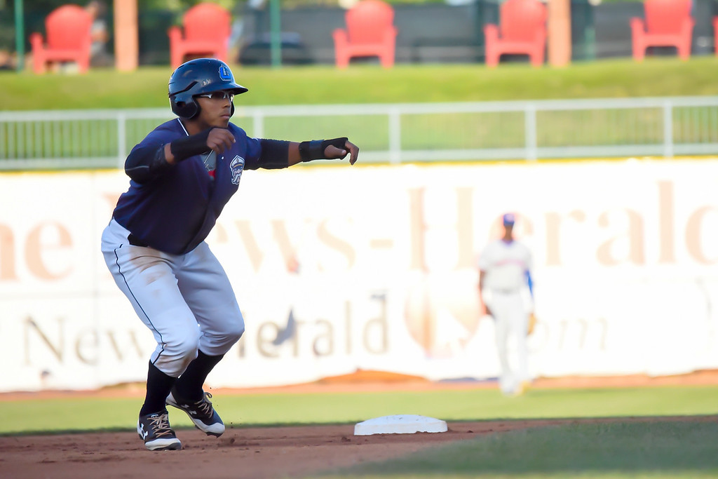 . Michael P. Payne - The News-Herald Photos from the Lake County Captains vs. South Bend Cubs on Aug. 22, 2018.