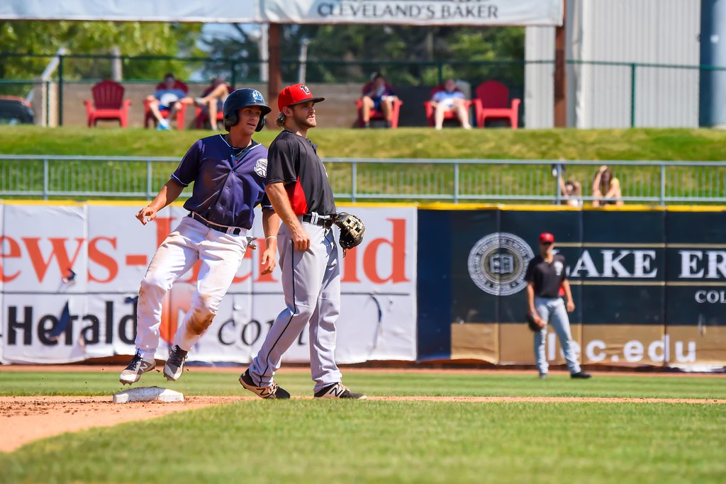 . Michael P. Payne - The News-Herald Photos from the Lake County Captains vs. Lansing Lugnuts on Sept. 3, 2018, at Classic Park.