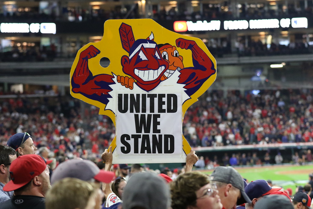 PHOTOS: Cleveland Indians fans at Game 1 of the ALDS, Oct  5