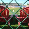 Center field Adirondack chairs view, Classic Park.