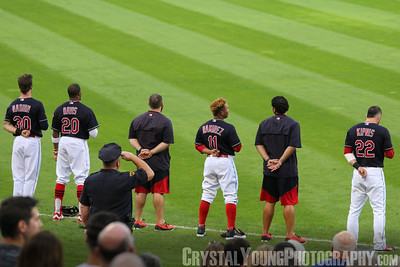 Kansas City Royals at Cleveland Indians Progressive Field, Cleveland OH September 21, 2016