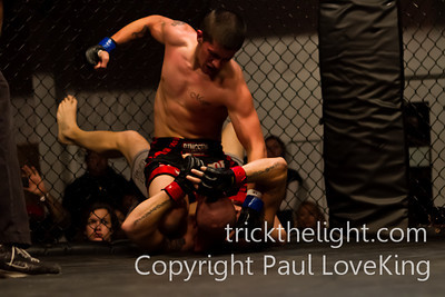 Fight 12. Dominick Parisi vs Kevin Miles. Winner Miles