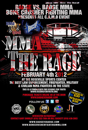 BADGE VS BADGE - THE RAGE - 4 FEB 2012