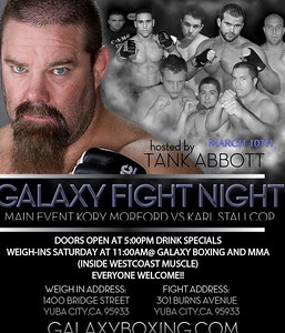 GALAXY FIGHT NIGHT 10 MARCH 2012