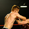 MESQUITE, NV - Jace Crawford vs Larry Mir at the Tuff N Uff Amateur Fights held October 17, 2009 at the CasaBlance Resort.