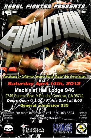 REBEL FIGHTER - EVOLUTION - 14 APR 2012
