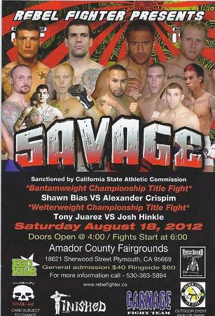 REBEL FIGHTER - SAVAGE - 18 AUG 2012
