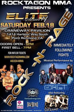 ROCKTAGON MMA - ELITE 14 - 18 FEB 2012