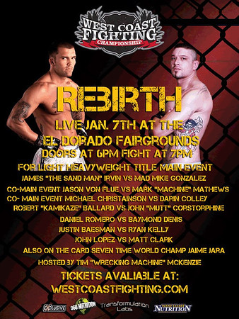 WEST COAST FIGHTING *REBIRTH*