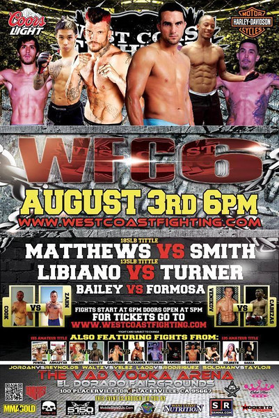 WEST COAST FIGHTING CHAMPIONSHIP WCF-6