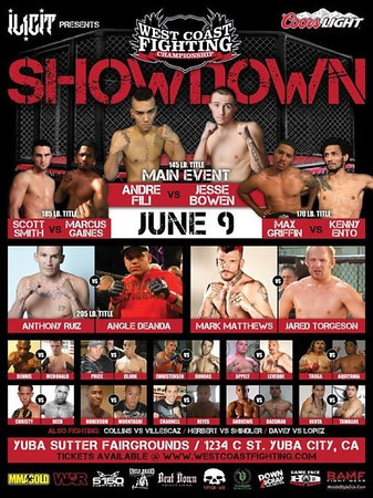 WEST COAST FIGHTING CHAMPIONSHIP SHOWDOWN