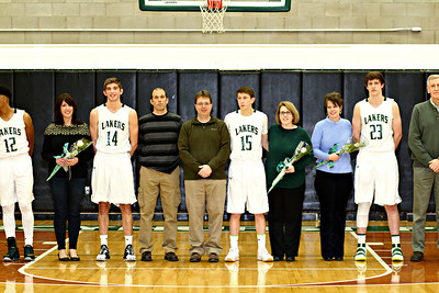 MPS Boys  BB  Senior Night
