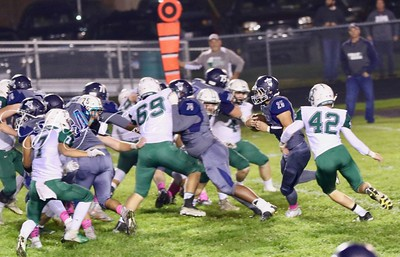 2018 MRHS Football vs St  Bede Oct 5 - 21 of 101