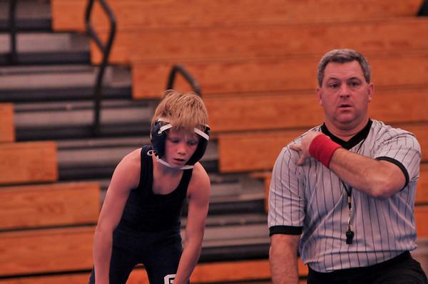 MS Varsity Wrestling Jan. 6th 2011