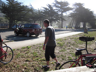 Rest stop on Saturday. The one at Stinson Beach?