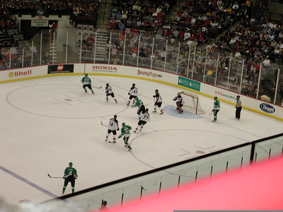 MSU at OSU ice hockey 2001