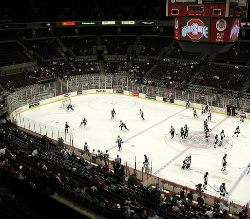 MSU at OSU ice hockey 2002