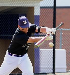 April 26, 2018 Baseball Warmups for JPS Game.