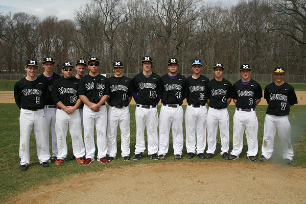 Baseball Varsity Squad Group and Individual Mug shots , April 8, 2014
