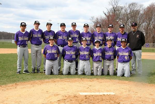 Freshman Baseball Squad Group and Individual Mug Shots April 8 2014