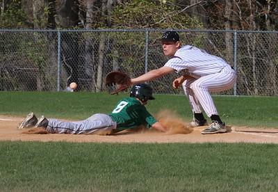Freshman Baseball vs So Plainfield Tigers, April 28, 2015