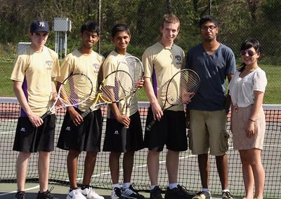 Falcon Boys Tennis April 16, 2012
