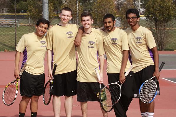 Falcon Boys Tennis vs JFK, April 3, 2014