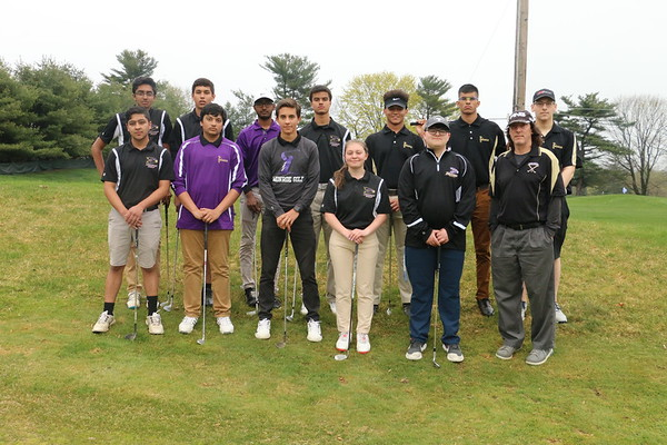 MTHS Golf, April 25, 2018 at Forsgate Country Club